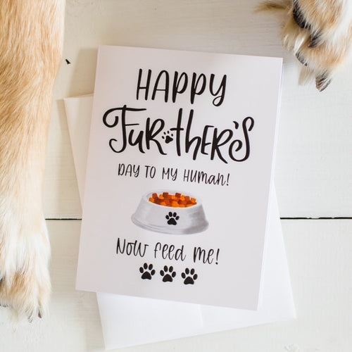 Happy Fur-ther's Day Card