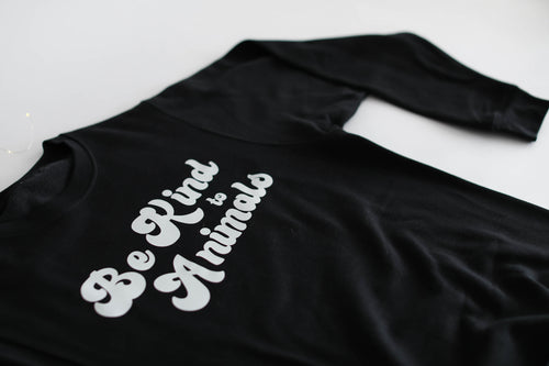 Be Kind to Animals Crew Neck