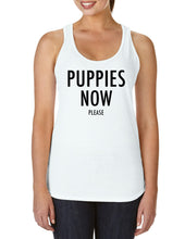 Puppies Now Please Tank - 2XL ONLY