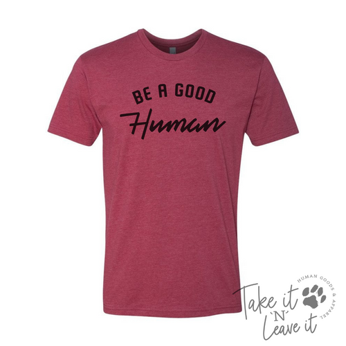 Be a Good Human V-Neck