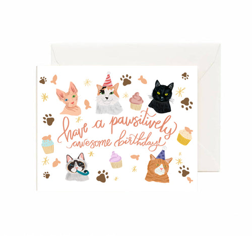 Birthday Card CATS