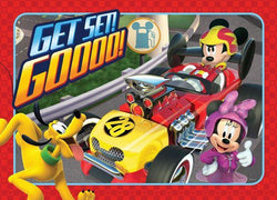 35 Piece Frame Tray Puzzle - Mickey & Roadster Racers (assorted)