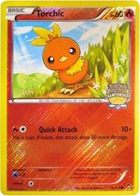 Torchic (City Championship Promo) [Staff] (12) [League & Championship Cards]