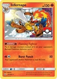 Infernape - 23/156 (League Promo) (23) [League & Championship Cards]
