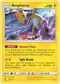 Ampharos (SM Lost Thunder) (78) [Deck Exclusives]