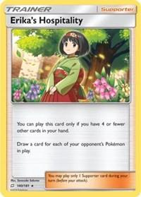 Erika's Hospitality (SM Team Up) (140) [Deck Exclusives]