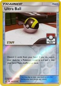 Ultra Ball - 68a/73 (League Promo) [Staff] (68a) [League & Championship Cards]