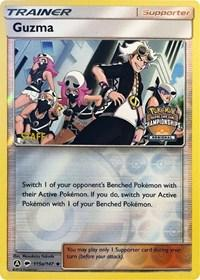 Guzma - 115a/147 (Regional Championship Promo) [Staff] (115a) [League & Championship Cards]