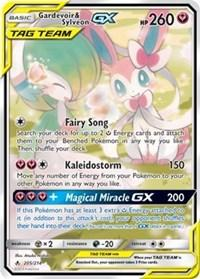 Gardevoir & Sylveon GX (205) (Full Art) (205) [SM - Unbroken Bonds]