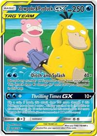 Slowpoke & Psyduck GX (Alternate Full Art) (218/236) [SM - Unified Minds]