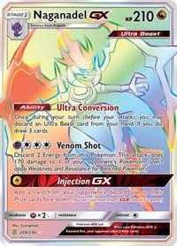 Naganadel GX (Secret) (249/236) [SM - Unified Minds]