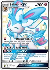 Sylveon GX (SV76/SV94) [Hidden Fates: Shiny Vault]