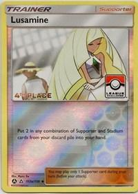 Lusamine (League Challenge Alt Art 4th Place) (153a/156) [League & Championship Cards]