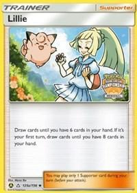 Lillie - 215a/156 (Regional Promo) (125a) [League & Championship Cards]