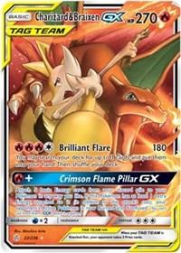 Charizard & Braixen GX (22/236) [SM - Cosmic Eclipse]