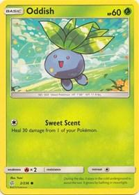 Oddish (2/236) [SM - Cosmic Eclipse]