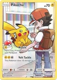 Pikachu (Secret) (241/236) [SM - Cosmic Eclipse]