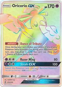 Oricorio GX (Secret) (255/236) [SM - Cosmic Eclipse]