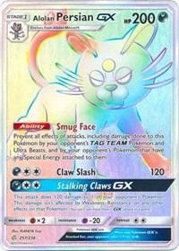 Alolan Persian GX (Secret) (257/236) [SM - Cosmic Eclipse]