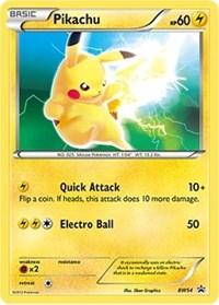 Pikachu (Non-Holo) (BW54) [Black and White Promos]