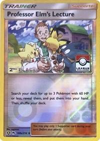 Professor Elm's Lecture - 188a/214 (League Promo) [2nd Place] (188a/214) [League & Championship Cards]