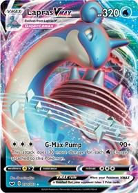 Lapras VMAX (050/202) [SWSH01: Sword & Shield Base Set]