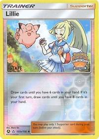 Lillie - 215a/156 (Regional Promo) [Staff] (125a/156) [League & Championship Cards]