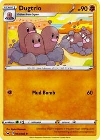 Dugtrio (093/202) [SWSH01: Sword & Shield Base Set]