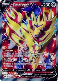 Zamazenta V (Full Art) (196/202) [SWSH01: Sword & Shield Base Set]