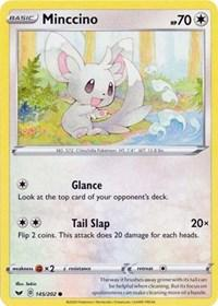 Minccino (145) (145/202) [SWSH01: Sword & Shield Base Set]