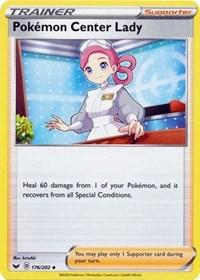 Pokemon Center Lady (176/202) [SWSH01: Sword & Shield Base Set]