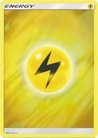 Lightning Energy (2017 Unnumbered) (Wave Foil) (null) [Deck Exclusives]