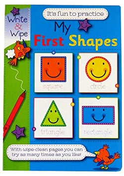 Write & Wipe - My First Shapes