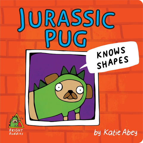 Jurassic Pug Knows Shapes