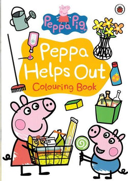 Peppa Pig Activity Book - Peppa Helps Out