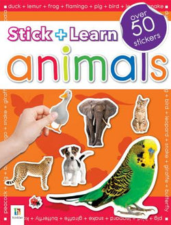 Stick + Learn - Animals