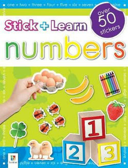 Stick + Learn - Numbers