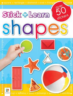 Stick + Learn - Shapes