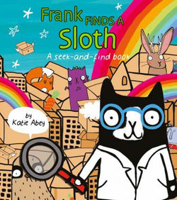Frank Finds a Sloth - Seek and Find Book