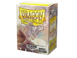 Dragon Shield Sleeves: (100) Clear Non-Glare Matte