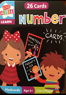 Numbers 26 Flash Cards