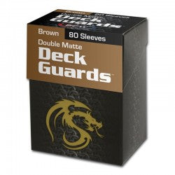 BCW Boxed Sleeves Brown (80)