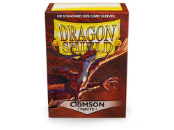 Dragonshield Sleeves 100ct Standard - Crimson Matte