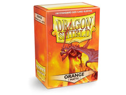 Dragonshield Sleeves 100ct Standard - Orange Matte