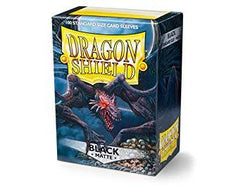 Dragonshield Sleeves 100ct Standard - Black Matte