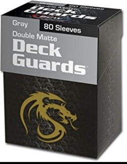 BCW Deck Guard Boxed Sleeves (80) Grey
