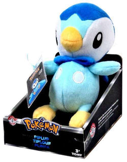 Piplup 20cm Plush - Tomy Trainers Choice