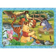 35 Piece Frame Tray Puzzle - Winnie The Pooh (assortment)
