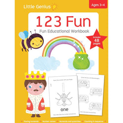 Little Genius- 123 Fun workbook