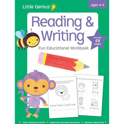 Litte Genius- Reading and Writing workbook